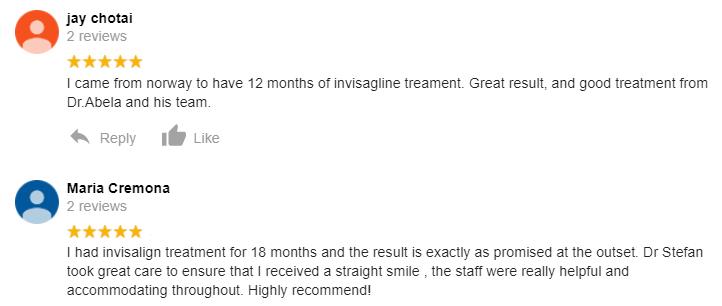 Invisalign reviews